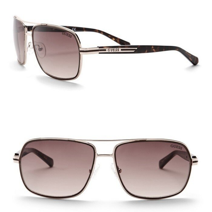 Guess - 61mm Navigator Sunglasses