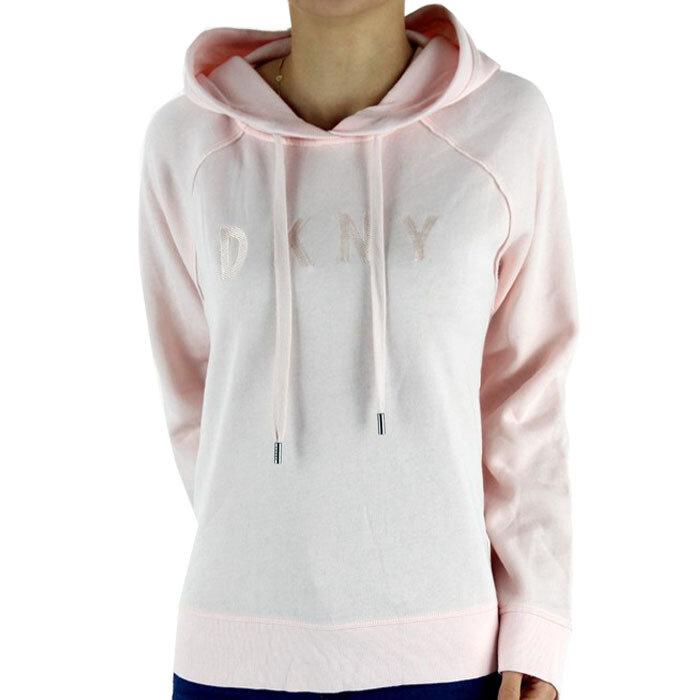 DKNY - Bluza z kapturem ocieplana