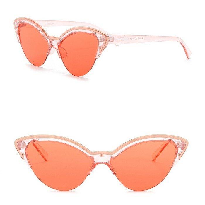 Steve Madden - 58mm Novelty Cat Eye Sunglasses