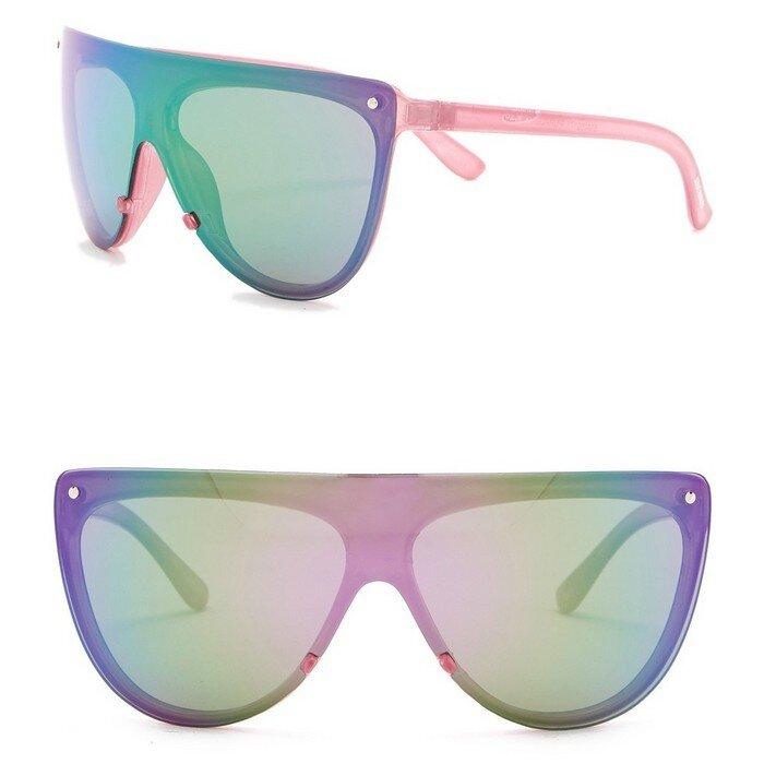 Steve Madden - 136mm Shield Sunglasses