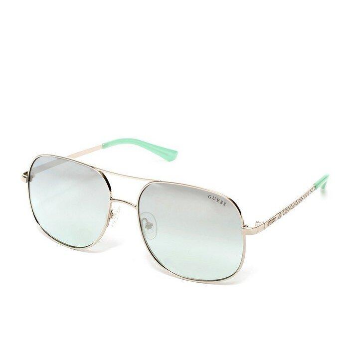 Guess - 59mm Aviator Sunglasses
