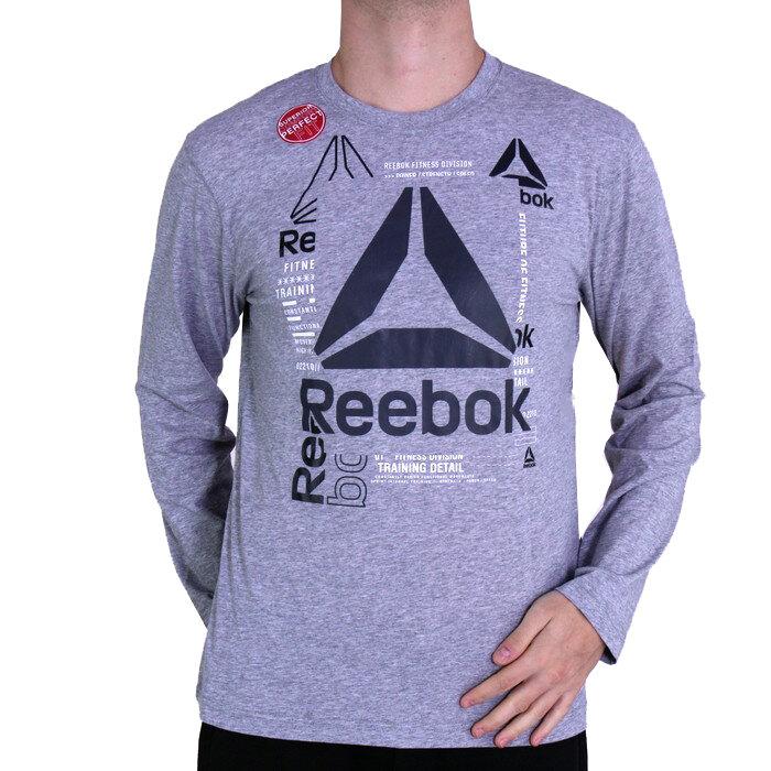 Reebok - Tričko s dlhým rukávom