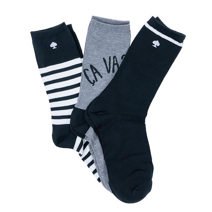 Kate Spade - Ponožky x 3