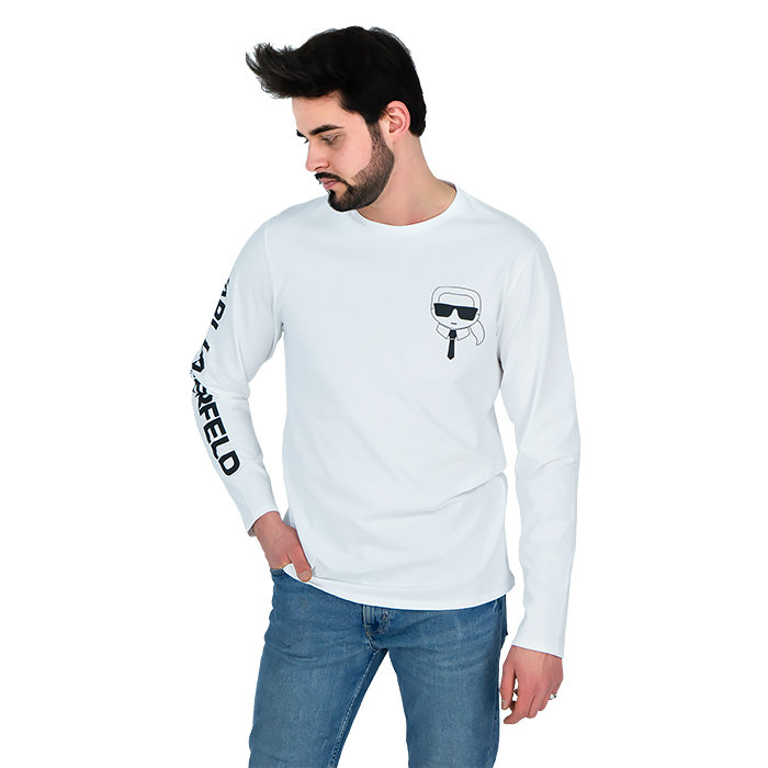 Karl Lagerfeld - T-shirt with long sleeves