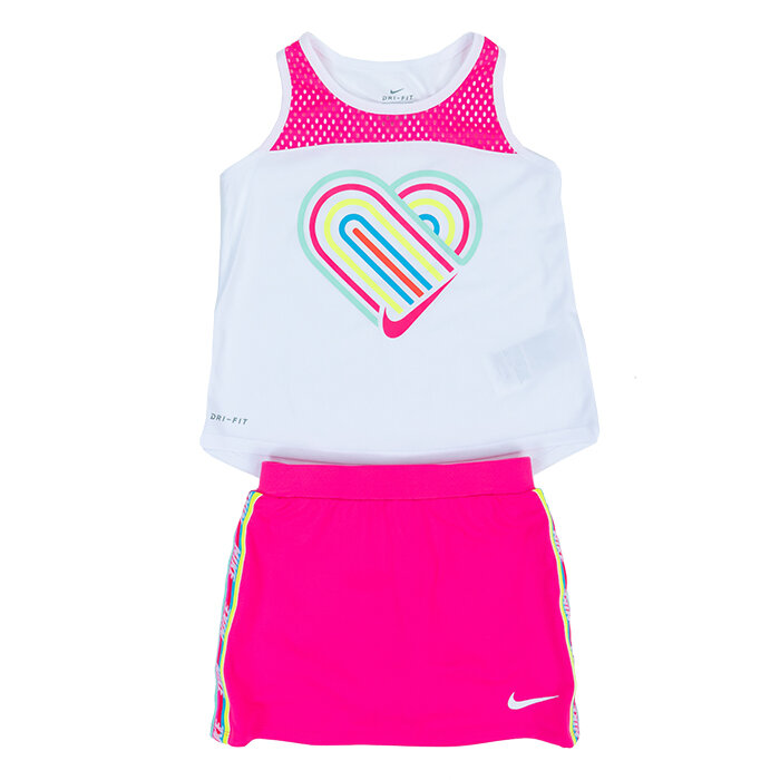 Nike - T-shirt and skirt