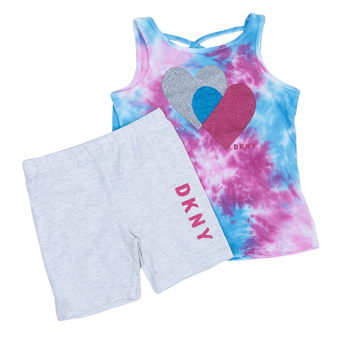 DKNY - T-Shirt und Shorts