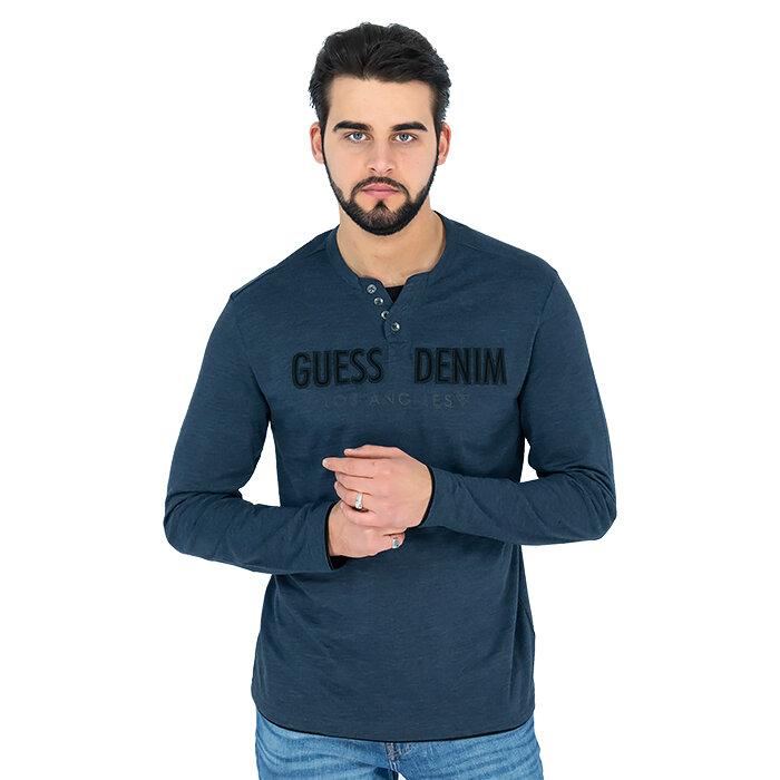 Guess - T-Shirt mit langen Ärmeln
