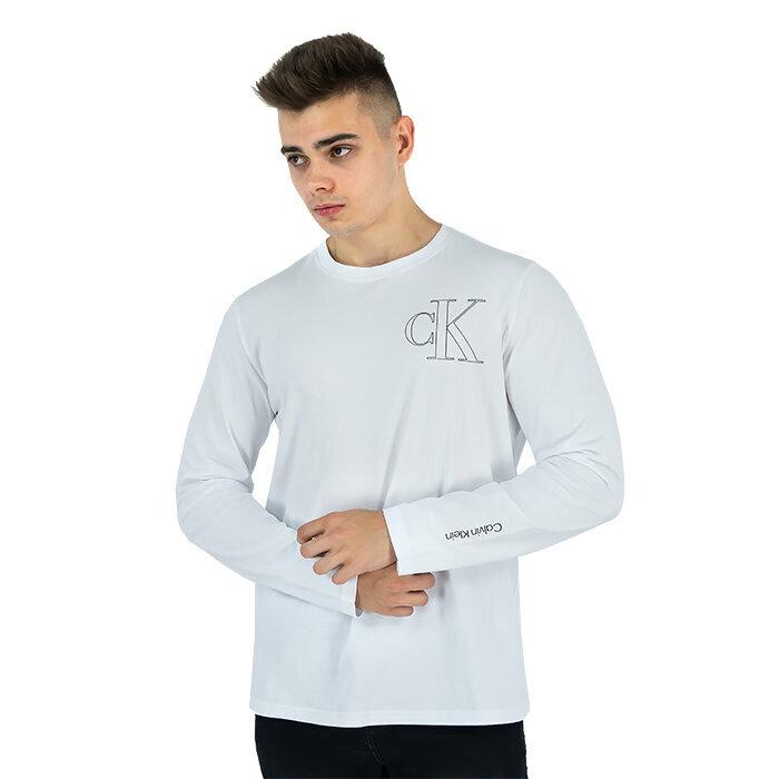 Calvin Klein - T-Shirt mit langen Ärmeln