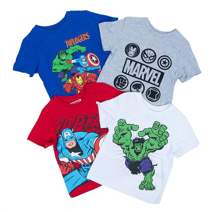 Marvel - T-Shirt x 4
