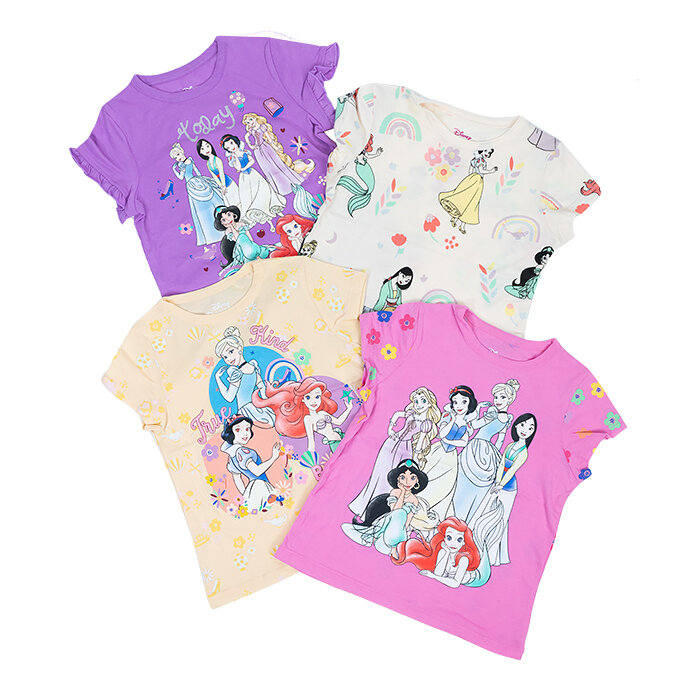 Disney - Tričká x 4