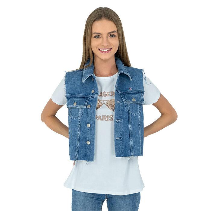 Calvin Klein - Kamizelka jeansowa
