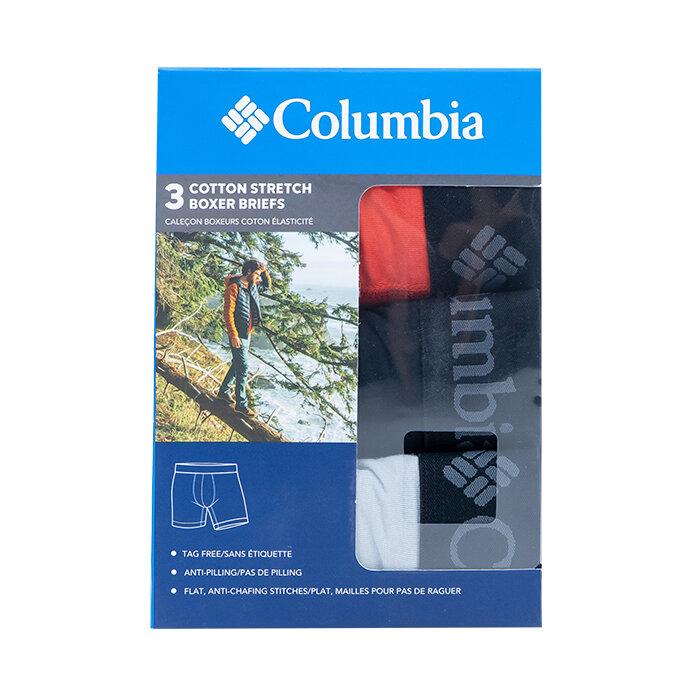 Columbia - Bokserki x 3
