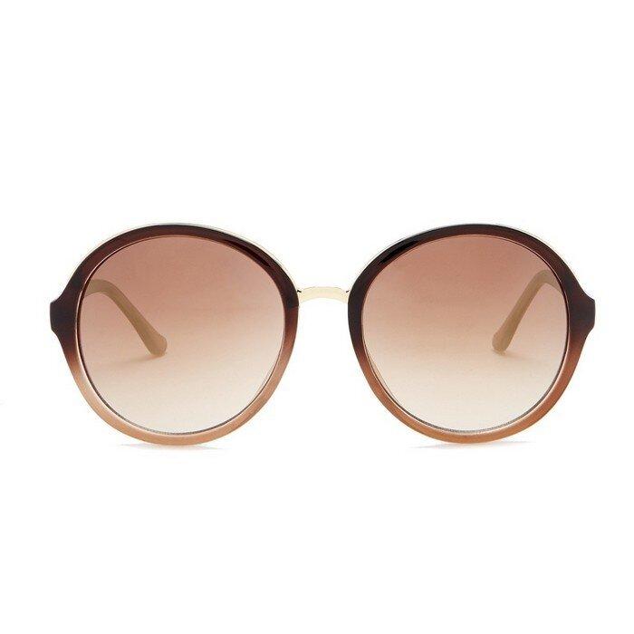 Steve Madden - 59mm Round Sunglasses