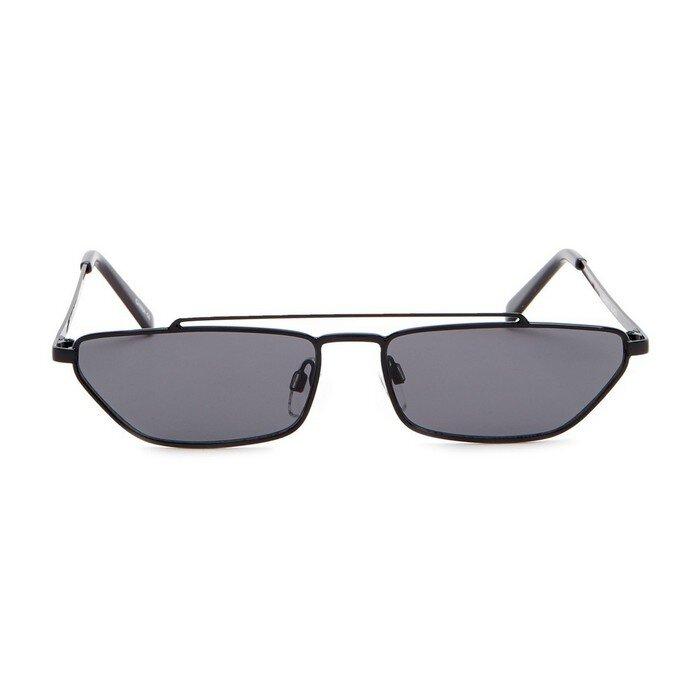 Steve Madden - 27mm Rectangle Novelty Sunglasses