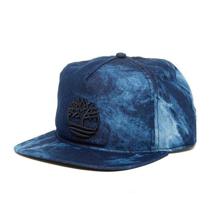 Timberland - Denim Snap-Back Baseball Cap