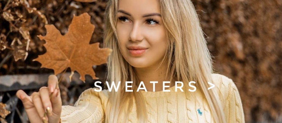 markowe swetry